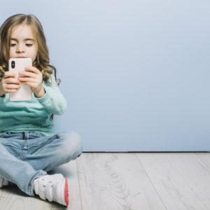 Uso dello smartphone per i bambini